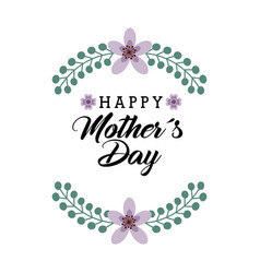 Happy mother day design vector