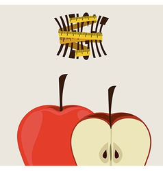 Heathy Lifestyle designl vector image