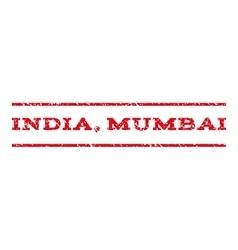 India Mumbai Watermark Stamp vector image