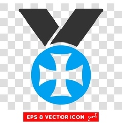 Maltese Medal Eps Icon vector image