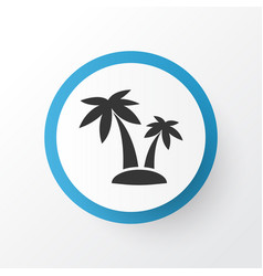 Palms icon symbol premium quality isolated tree vector