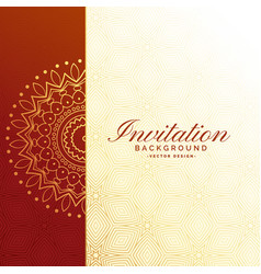 Royal Indian Wedding Card Vector Images Over 1 000