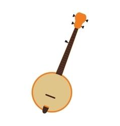 single banjo icon vector image