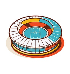 Sport Stadium National vector image