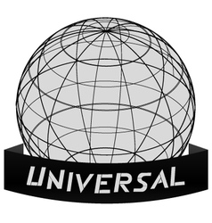 Universal world icon vector image