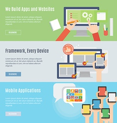 Element of website and mobile icon in flat design vector image