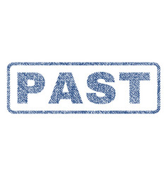 Past textile stamp vector