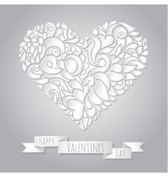 Decoration heart 05 vector