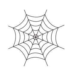 Spider web cobweb icon spiderweb border vector