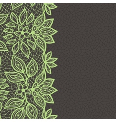 Vintage lace background abstract ornament texture vector