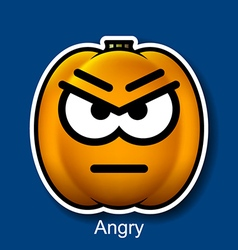 Angry vector image vector image