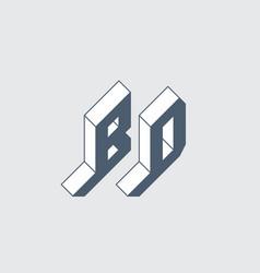Bd - international 2-letter code bangladesh b vector
