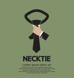 Green Necktie vector