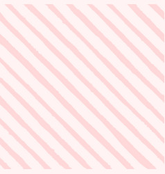 Hand drawn diagonal grunge pink stripes vector