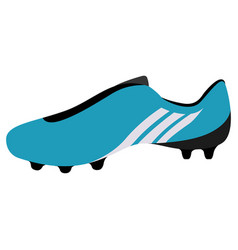Isolated soccer cleat icon vector