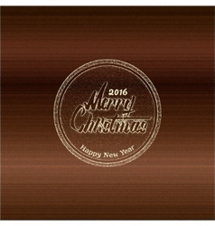 Merry christmas insignia and labels for any use vector image