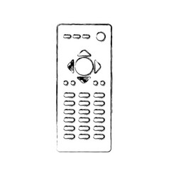 remote contgrol tv icon vector image
