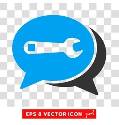 Repair Chat Eps Icon vector
