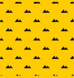 Swiss alps pattern vector