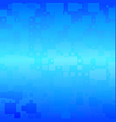 turquoise blue gradient rounded tiles background vector image