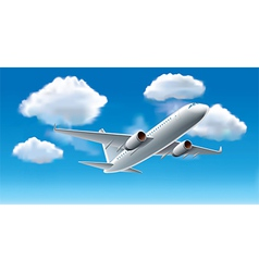 Object airplane sky vector