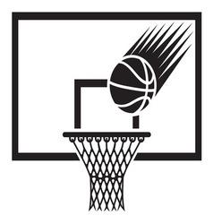 Basketball2 resize vector image
