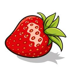 Strawberry 001 vector image