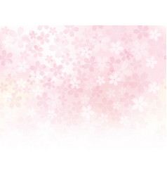 A seamless background image with cherry blossoms vector