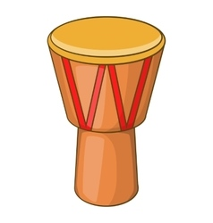 Australia drum icon cartoon style vector