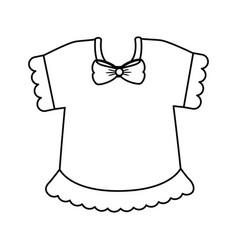 baby clohtes design vector image