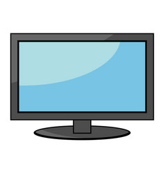Flatscreen icon vector