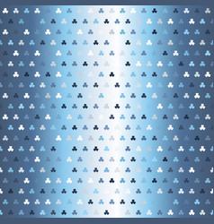 glossy shamrock pattern seamless vector image