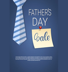 Happy father day holiday sale shopping discount vector