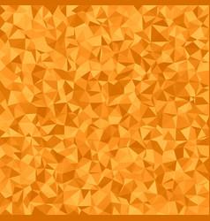 Orange irregular triangle tiled background vector