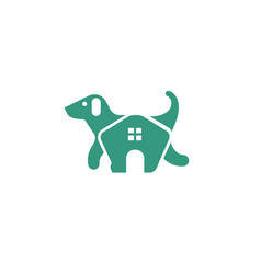 pet home logo vector image