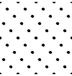 Seamless black and white pattern with abstract vector image
