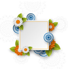 square banner for indian holidays vector image