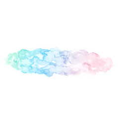 watercolor abstract gradient painting vector image