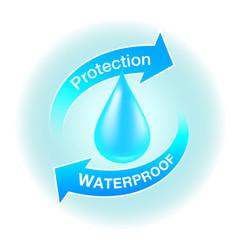 waterproicon vector image