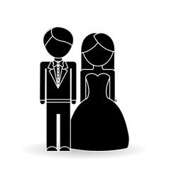 wedding icon design vector image