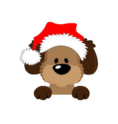happy christmassymbol the dog 2018 vector image