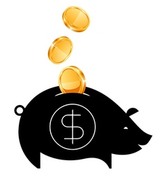 Money Saving bank vector image vector image