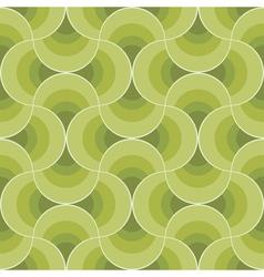 retro leaves ornament vector image