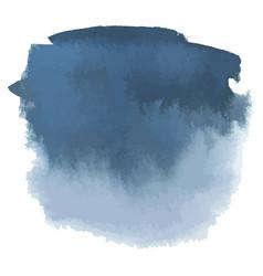 blue gray watercolor hand drawn gradient banner vector image vector image