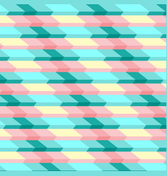 abstract striped geometric pattern of stairs vector image