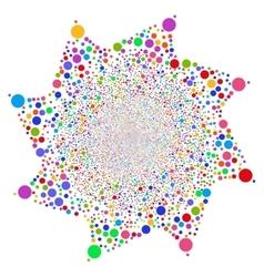 Ball Fireworks Flower vector
