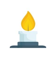 Bunsen burner flame vector