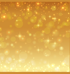 Gold shiny glitter christmas background vector