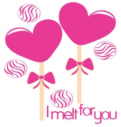 I Melt For You vector image