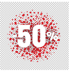 offer price sign transparent background vector image